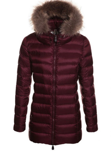Perle Down Jacket Woman Aubergine by Jott