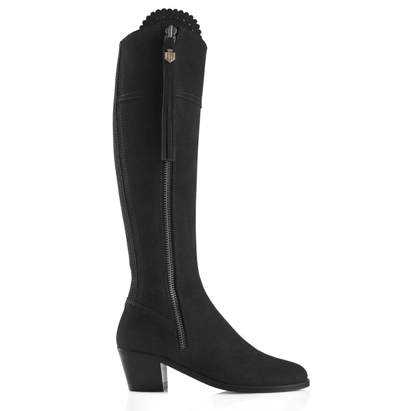 Fairfax & Favor Heeled Regina - Black