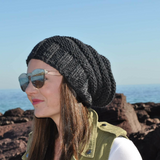 Men and Women's Slouch Beanie charcoal
