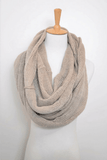 Womens knitted  Infinity Scarf