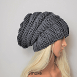 Men and Women's Slouchy Beanie grey