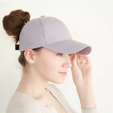 Messy baseball cap grey