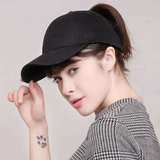 Messy baseball cap black