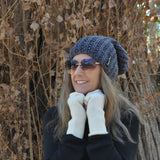 Slouch Beanie - Ribbed style-Men and Women