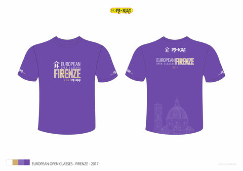 Open Classes T-Shirt 2017