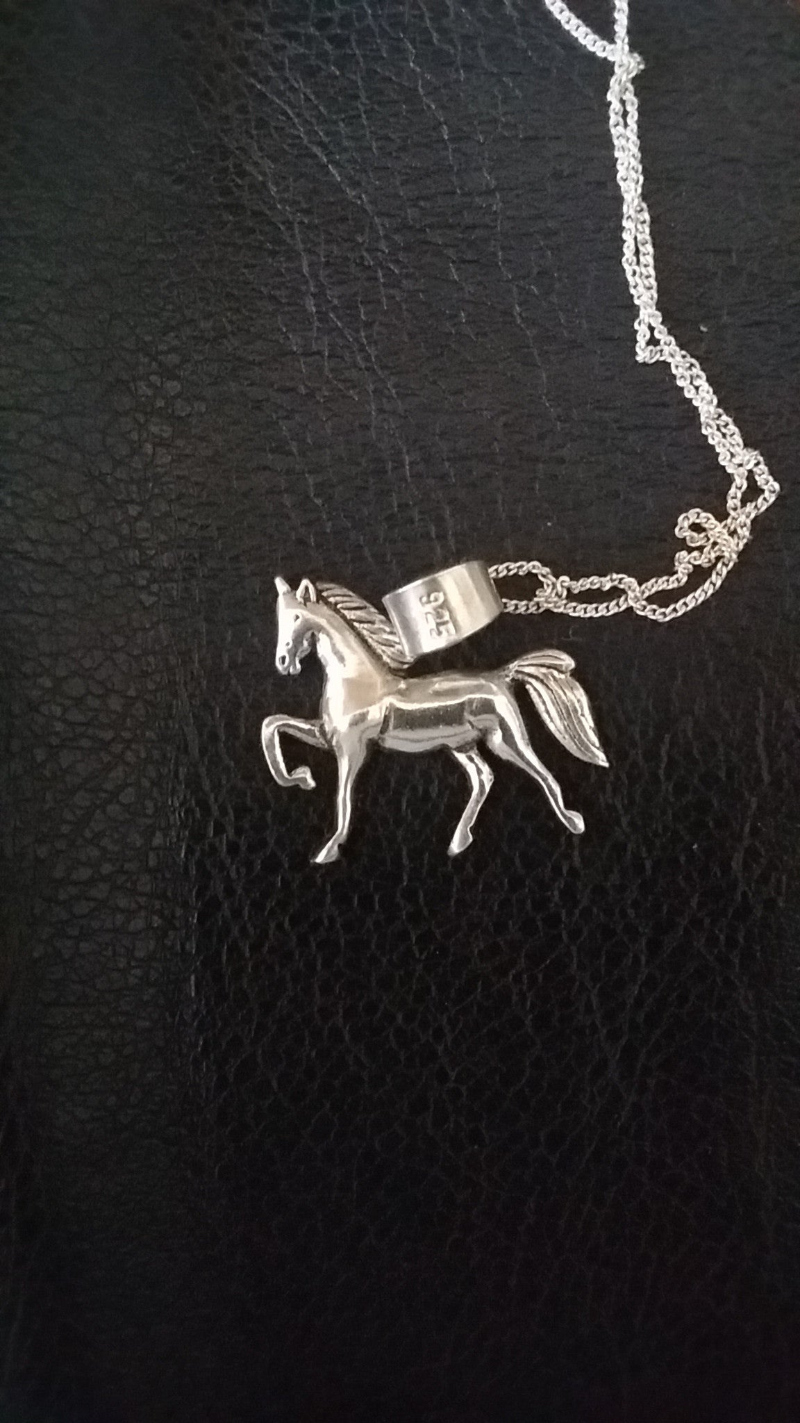 Sterling silver horsey pendants - Pendant - GoldSnaffle