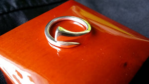 Horse shoe nail ring - Ring - GoldSnaffle