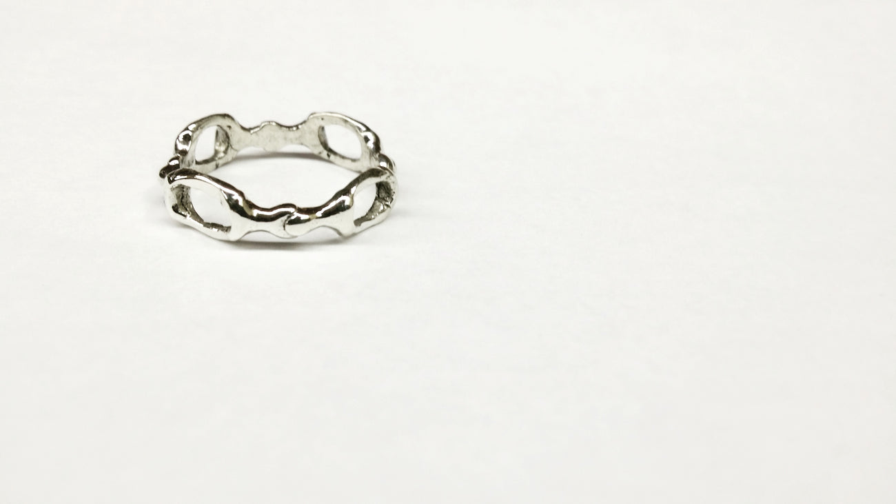 Horsey rings - Sterling silver jewelry - GoldSnaffle