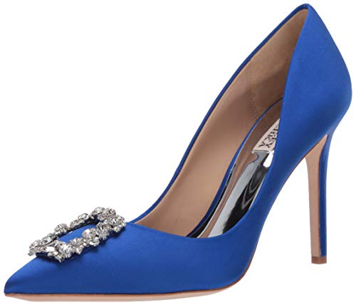 Badgley Mischka Women's Cher Pump, Electric Blue, 5 M US