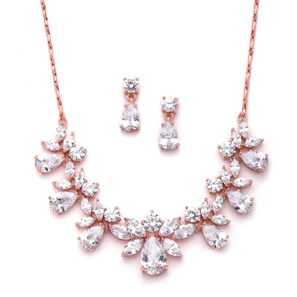 Rose Bloom Bridal Set