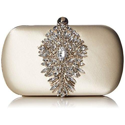 Bride Savvy LLC -Your Bride Box Badgley Mischka Aurora Embelished Clutch