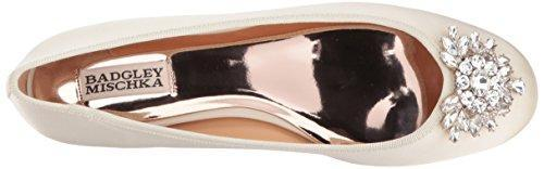 Bride Savvy LLC -Your Bride Box Badgley Mischka Bianca Ballet Flat