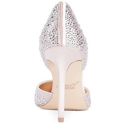 Bride Savvy LLC -Your Bride Box Jewel Badgley Mischka Alexandra Embelished Pointed-Toe Evening Pumps