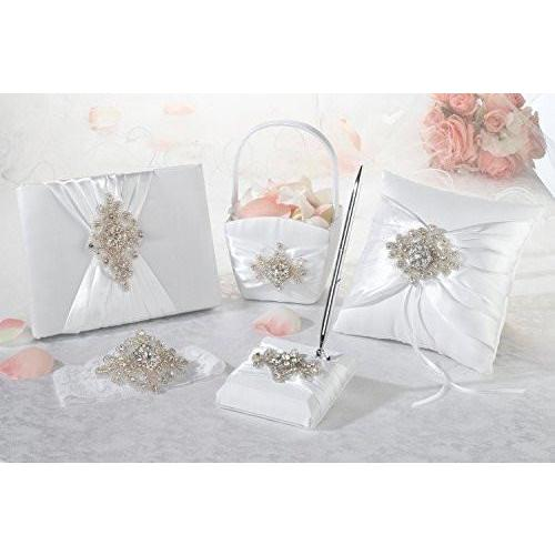 Bride Savvy LLC -Your Bride Box Lillian Rose 5 Piece Jeweled Motif Collection