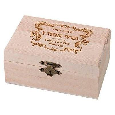 Bride Savvy LLC -Your Bride Box Lillian Rose True Love Ring Bearer Box, 4.875 by 3 by 2-Inch