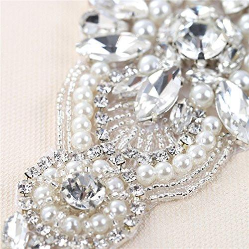 Bride Savvy LLC -Your Bride Box Maya Crystal & Pearl Beaded Diy Embellishment