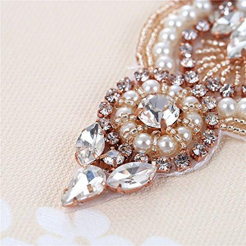 Bride Savvy LLC -Your Bride Box Maya Crystal & Pearl Beaded Embellishment