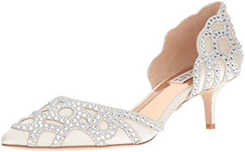 Bride Savvy LLC -Your Bride Box shoes Badgley Mischka Ginny Dress Pump (Wide Width)
