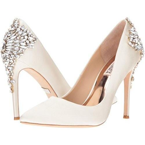 Bride Savvy LLC -Your Bride Box Shoes Badgley Mischka Gorgeous Dress Pump