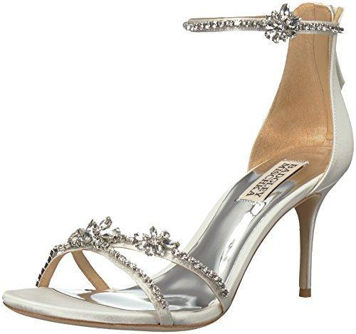 Bride Savvy LLC -Your Bride Box Shoes Badgley Mischka Hobbs Heeled Sandal, White
