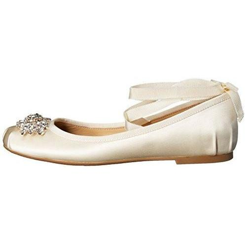 Bride Savvy LLC -Your Bride Box Shoes Badgley Mischka Karter Ballet Flat