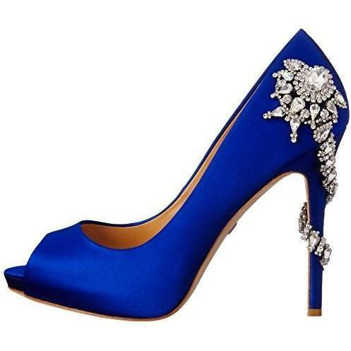 Bride Savvy LLC -Your Bride Box Shoes Badgley Mischka Royal Dress Pump (s)