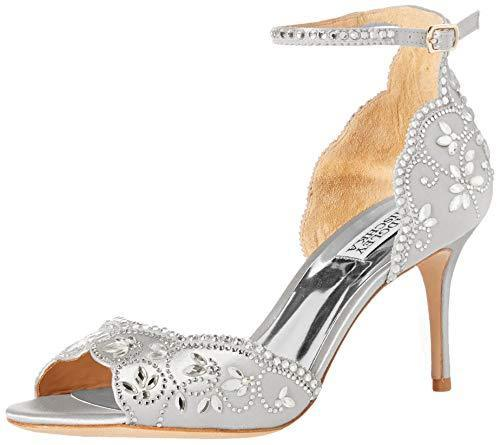 Bride Savvy LLC -Your Bride Box Shoes Badgley Mischka Veta Heeled Sandal
