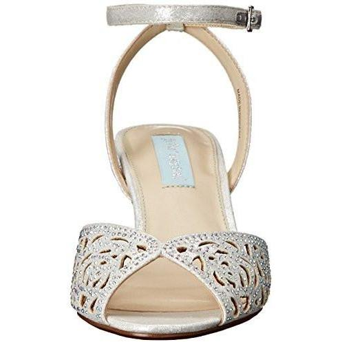 Bride Savvy LLC -Your Bride Box Shoes Blue by Betsey Johnson Raven Dress Sandal