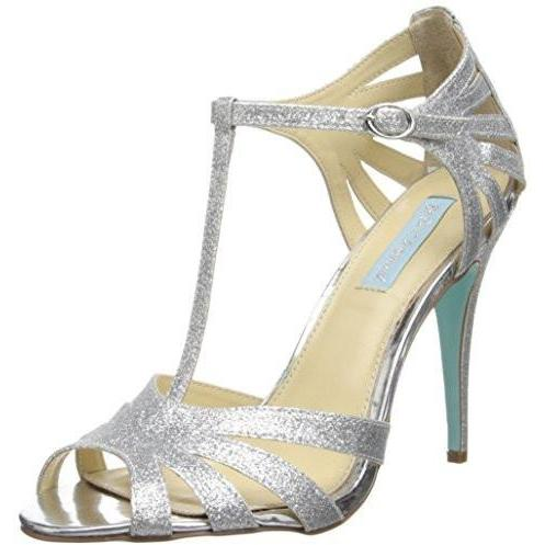 Bride Savvy LLC -Your Bride Box Shoes Blue by Betsey Johnson Tee Dress Sandal