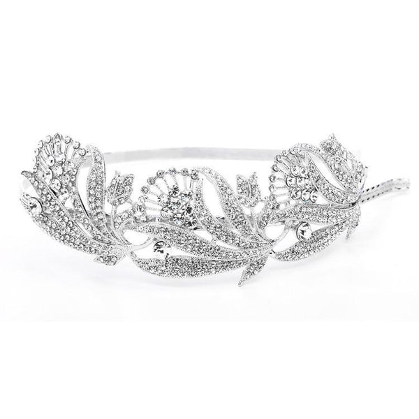 Marielle Hair Embelishments Breathtaking Art Nouveau Bridal Headband