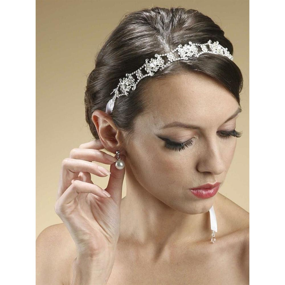 Marielle Headbands Swarovski Crystal Convertable Bridal Headband
