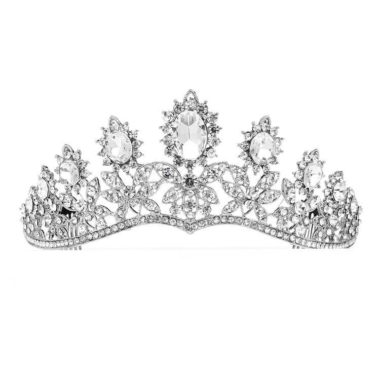 Marielle Tiara Royal Wedding Tiara with Dramatic Curve