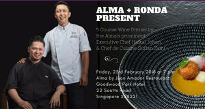 PURE Celebration Dinner 7 - Wines of Ronda at Alma by Juan Amador Michelin Star Restaurant