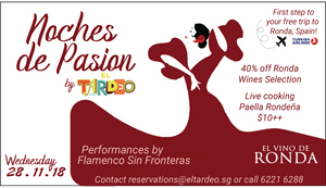 Again! The Hot Flamenco Party At El Tardeo!