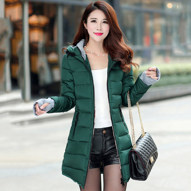 New Trendy Ladies Light Warm Winter Fashion Jacket