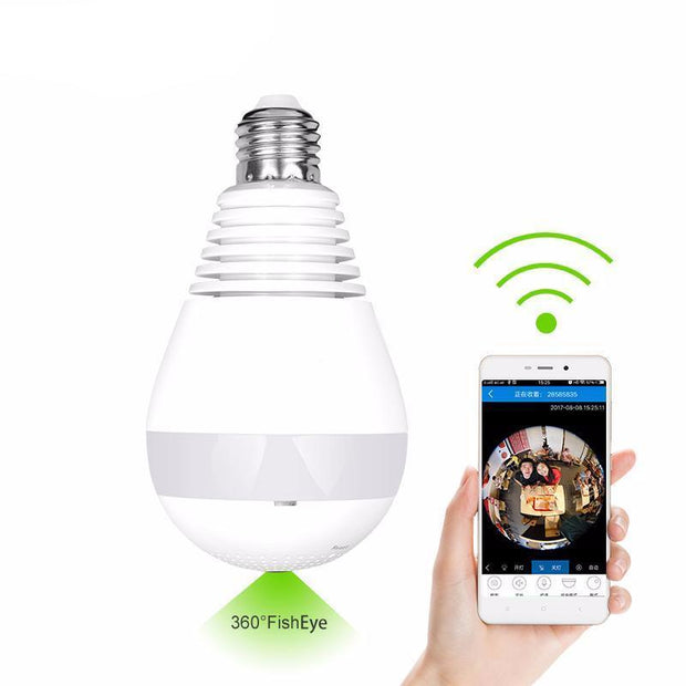 (Crazy Offer!) Wifi Light Bulb 360 CCTV Security Camera