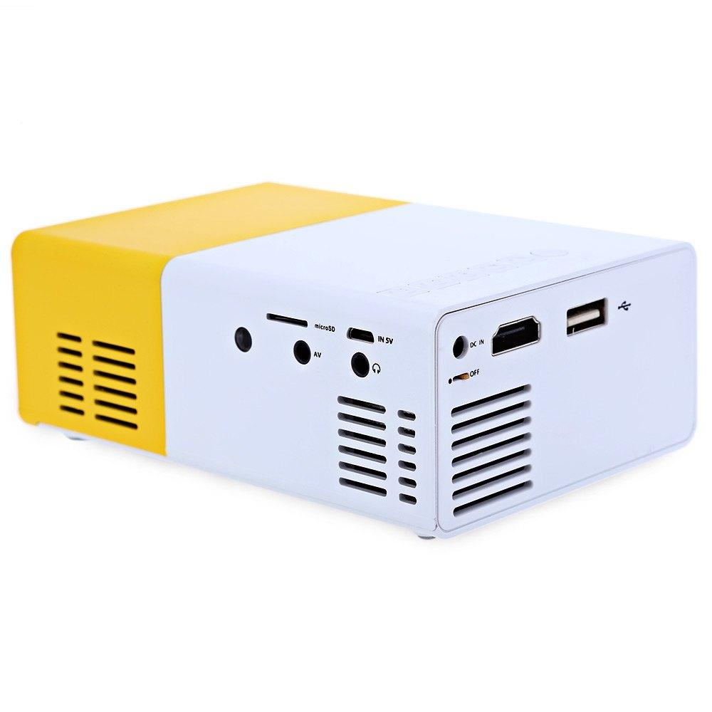 (Crazy Offer!) Stylish Mini Portable LED Projector