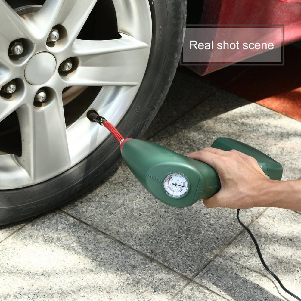 (Crazy Offer!) New Handheld Portable Air Compressor Tire Inflator Pump