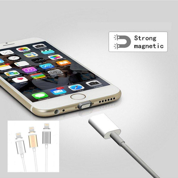 (Special Offer!) Detachable Magnetic Charging Cable for iPhone &  Android Phone Lovers! (Free Shipping)