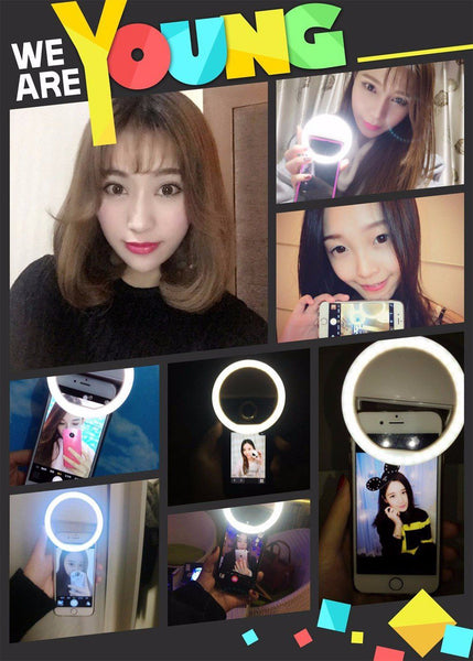 (CRAZY OFFER!) Portable Selfie Led Camera Phone Photography Ring Light