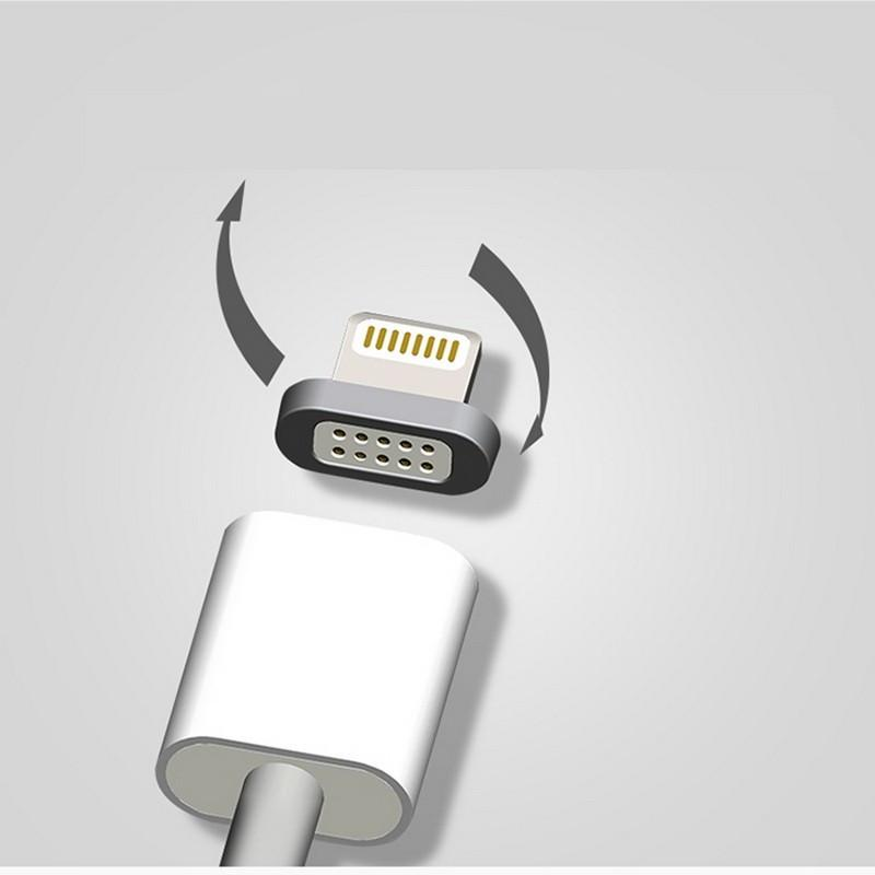Detachable Magnetic Charging Cable for iPhone &  Android Phone Lovers