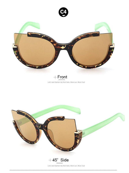 (Crazy Offer!) Round Shade Designer Style Fashion Sunglasses