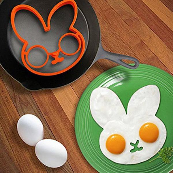 Cute Rabbit - Owl Silicone Egg Mold Ring Shaper