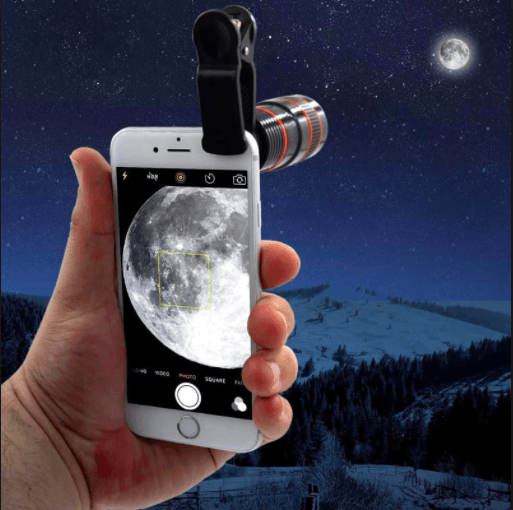 (Crazy Offer!) 12X Optical Zoom Telescope Camera Lens For Your Mobile Phones
