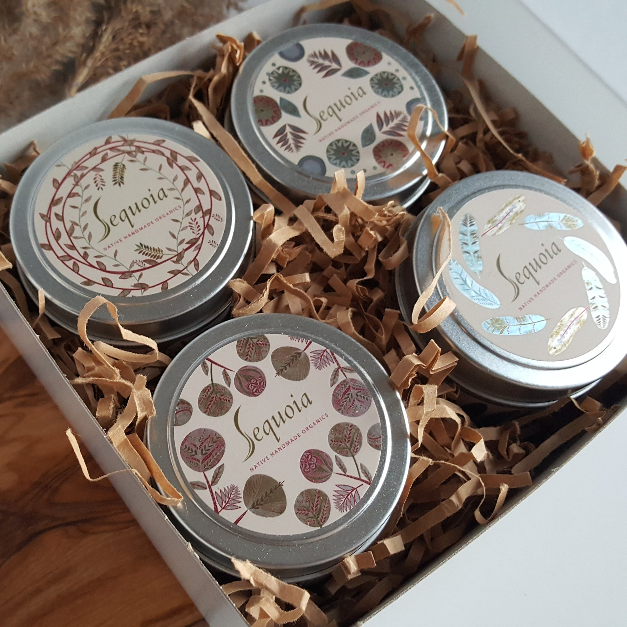 Four Candle Boxed Gift Set
