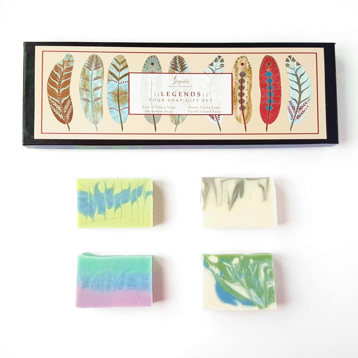 Legends Four Soap Gift Set