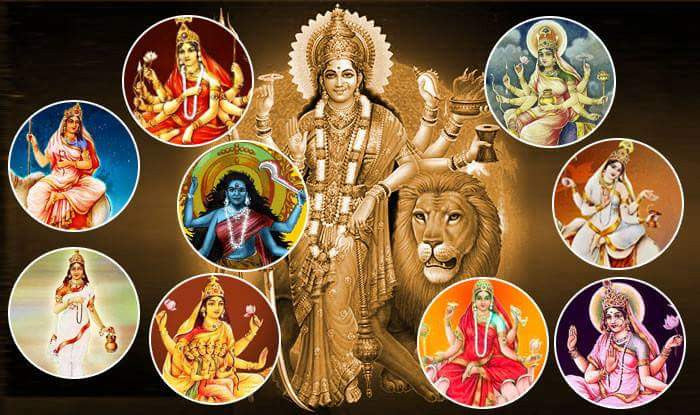 Navdurga ( नवदुर्गा )- The nine forms of Goddess Durga