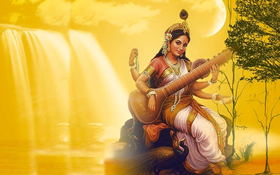 Maa Saraswati Ashtottara Shatanamavali Stotram in English