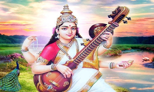 Shri Saraswati Shatanam Stotram in English