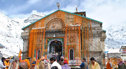 Laser show at kedarnath